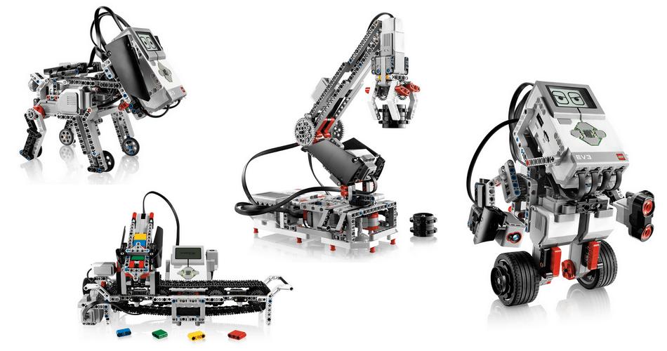 Mindstorms modely